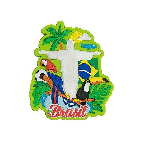 Imã de geladeira Tropical - Brasil
