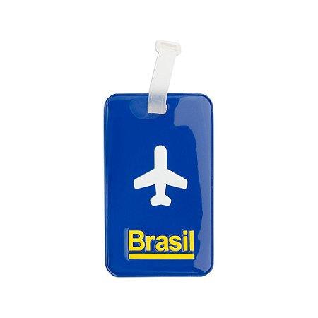 Identificador de bagagem PVC (várias cores) - Brasil
