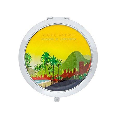 Espelho de bolso calçadão de copacabana - Rio de Janeiro