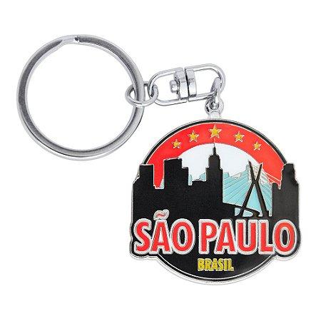 Chaveiro de metal cidade - São Paulo