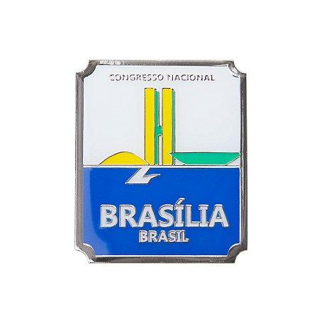 Imã de geladeira congresso nacional - Brasília
