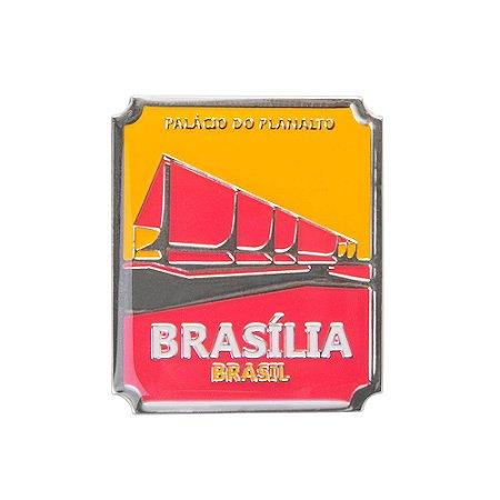 Imã de geladeira palácio do planalto - Brasília