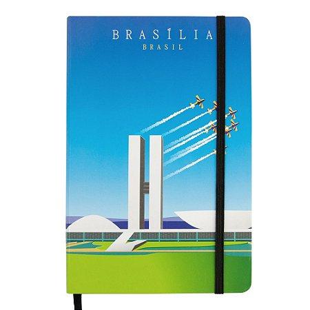 Caderno de anotações monumentos - Brasília