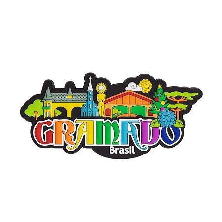 Imã de geladeira cidade - Gramado