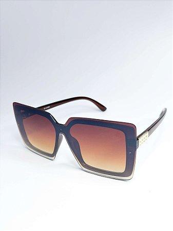 Óculos de sol Perla Prado ref: Kendall Cor: Marrom