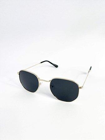 Óculos de sol Perla Prado ref: Miami Cor: Dourado