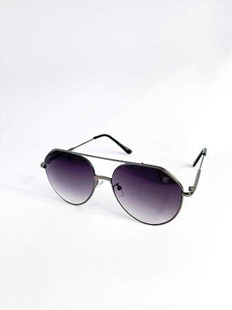 Óculos de sol Perla Prado ref: Luana Cor: Grafite