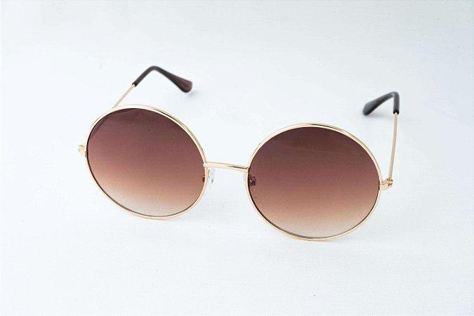 Óculos de Sol Perla Prado - ref: Amsterdam Marrom