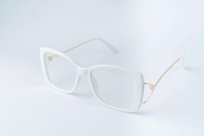 Armação Óculos de Grau Perla Prado - ref: Julie White