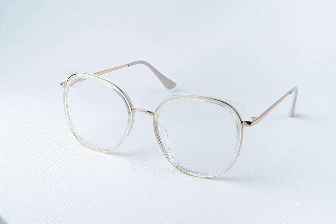 Armação Óculos de Grau Perla Prado - ref: Anne