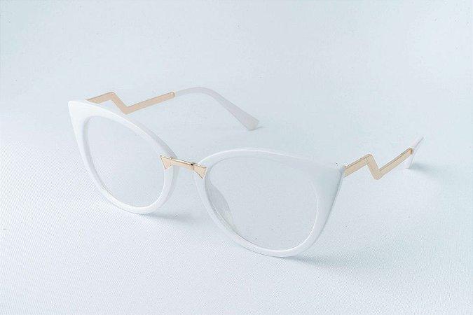 Armação Óculos de Grau Perla Prado - ref: Natana