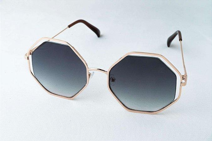 Óculos de Sol Perla Prado - Clau Gold