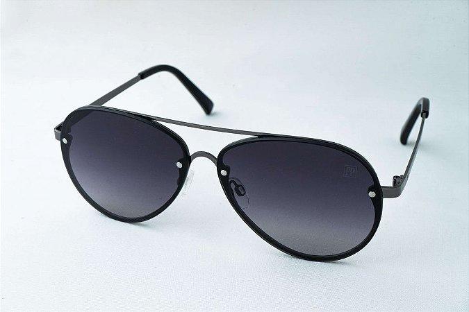 Óculos de Sol Perla Prado - ref: aviador Austrália Black