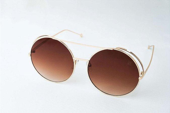 Óculos de sol Perla Prado - ref: Francis Gold
