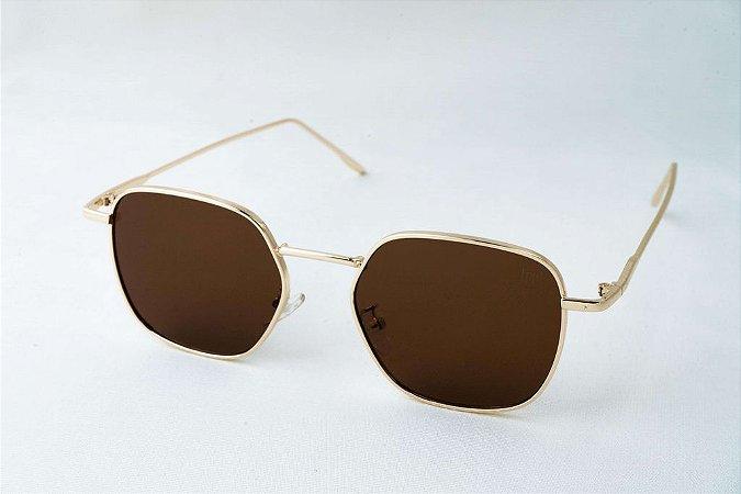 Óculos de Sol Perla Prado - ref: Rio de Janeiro Brown