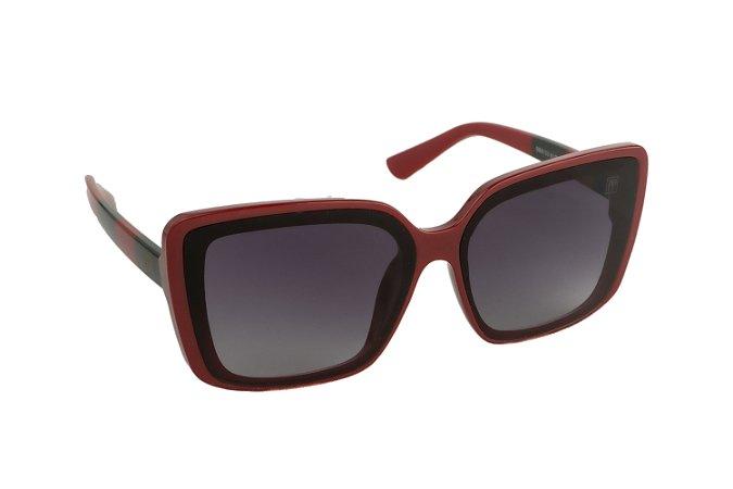 Óculos de sol Perla Prado ref: Óculos Hollywood Vermelho