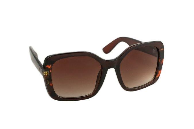 Óculos de sol Perla Prado ref: Óculos Costa Rica Marrom