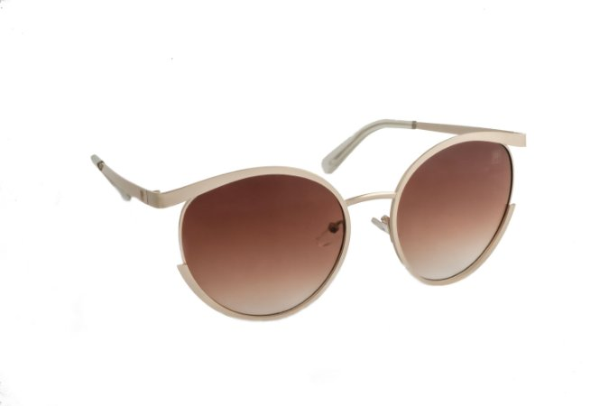 Óculos de sol Perla Prado ref: Óculos Grécia Marrom