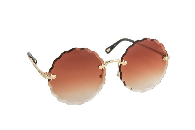 Óculos de sol Perla Prado ref: Solar Cancun Marrom