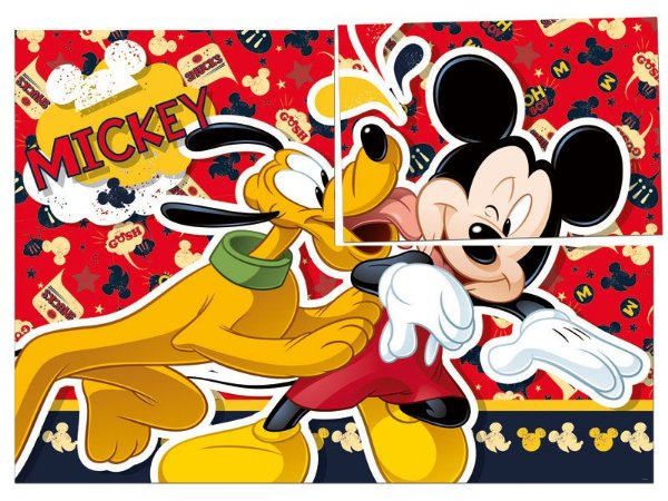 Painel 126cm x 88cm Mickey Clássico
