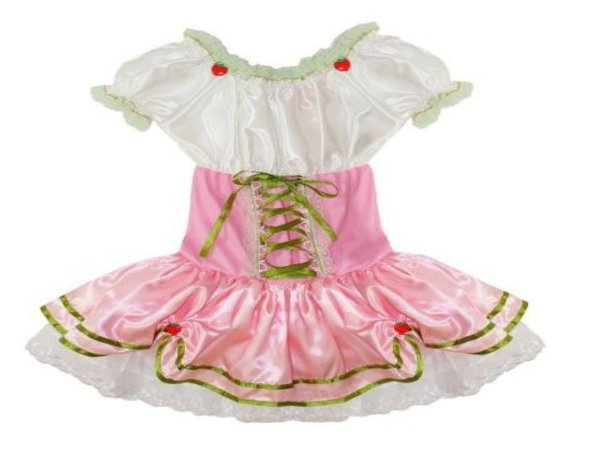 8b112a275b Fantasia Moranguinho Rosa Infantil Tam 2