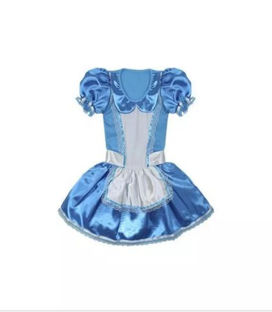 Fantasia Alice Infantil - Tam 2