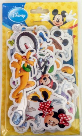 Adesivo com Cenário Disney Mickey e Minnie- Unidade