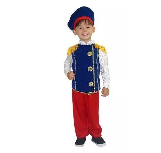 Fantasia Principe Infantil - Tam 2