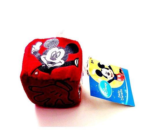 Dado Chaveiro de Pelúcia Mickey - Unidade