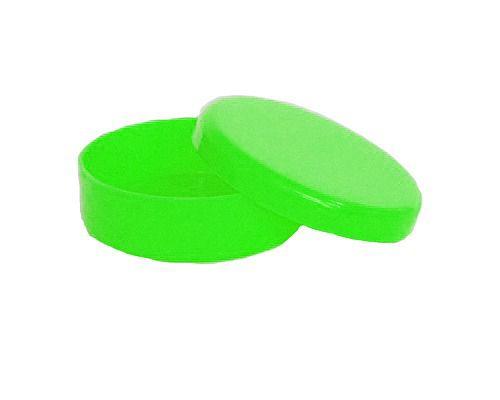 Latinha Plástica Lembrancinha para Personalizar Verde Transparente
