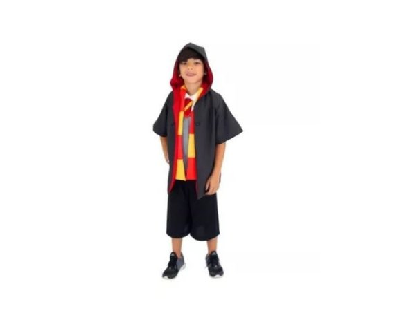 Fantasia Harry Potter- Infantil - Tam 6 -USADA