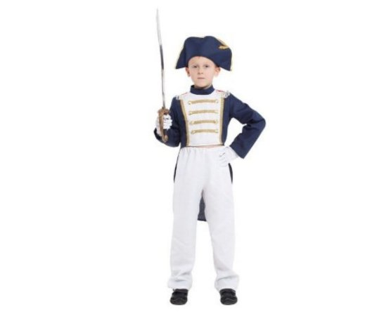 Fantasia infantil Napoleão tamanho XG - USADA