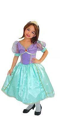 Fantasia Princesa Sereia - Infantil - Tam 2
