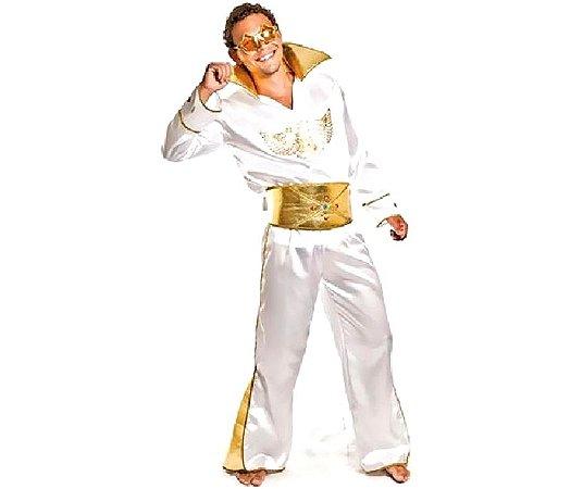 Fantasia Elvis Presley adulto tam M - USADO