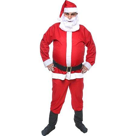 Fantasia de Papai Noel - Adulto GG - USADO
