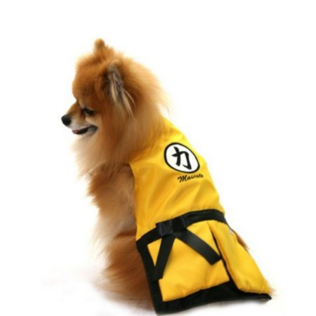 Fantasia Kung Fu amarelo Pet tam M