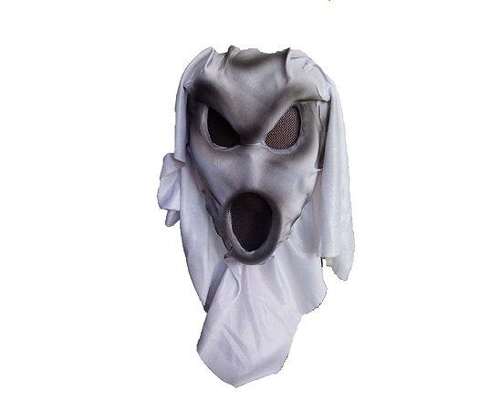 Máscara de Fantasma cinza