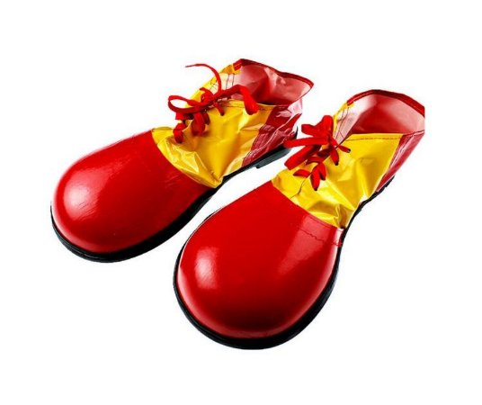 Sapato de Palhaço Adulto