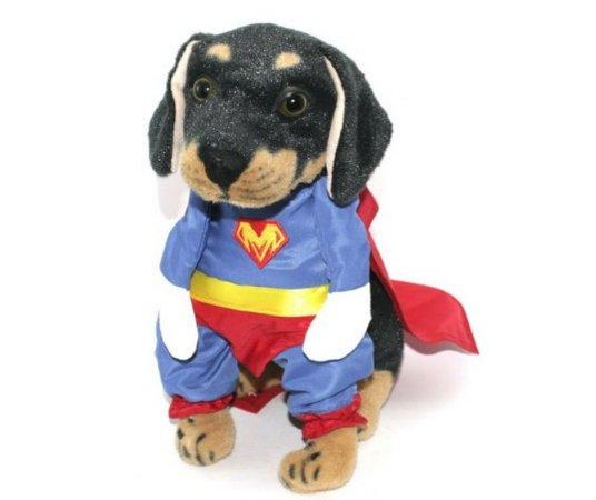 Fantasia de Super Mascote para Pet tam M