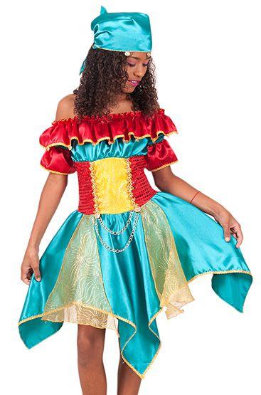 Fantasia Cigana infantil tam 14 - Aluguel
