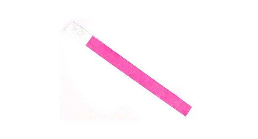 Pulseira de identificação Pink com 50 und