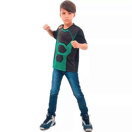 Camiseta Nerf Verde infantil P