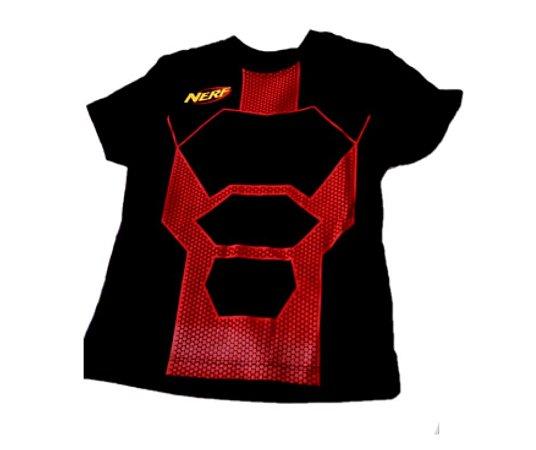 Camiseta Nerf Vermelho infantil M