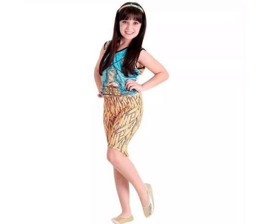 Fantasia Monster High Cleo de Nile GG - Infantil