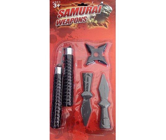 Kit Samurai com Lanças