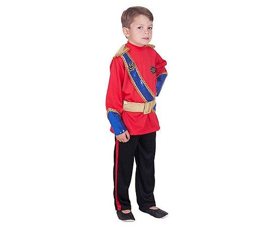 Fantasia Príncipe Will infantil tam 8