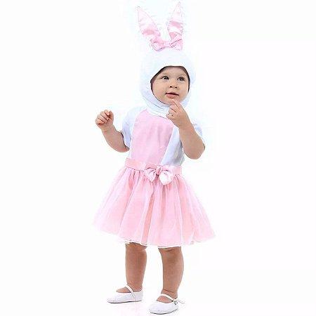 Fantasia coelhinha Baby tam 1 ano
