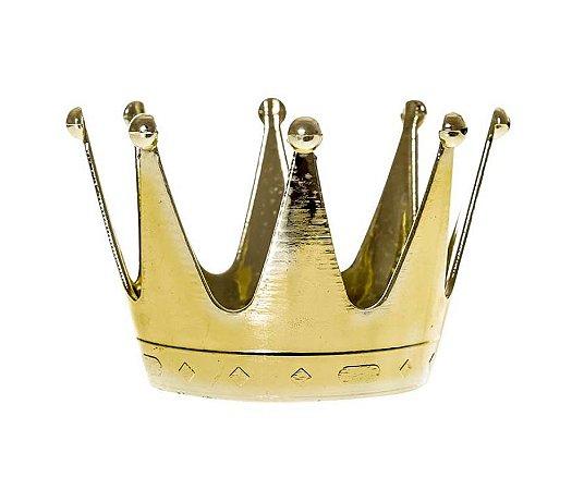Mini bandeja Coroa de Rainha Dourada