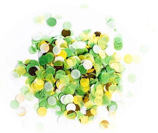 Confete para Balão Verde