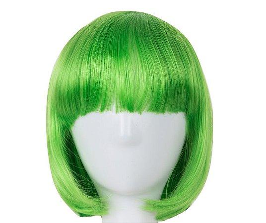Peruca Verde Curta